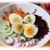 Салат из редиса Дайкон и огурцов