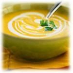 Фасолевый суп пюре