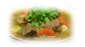 Суп из говядины и капусты