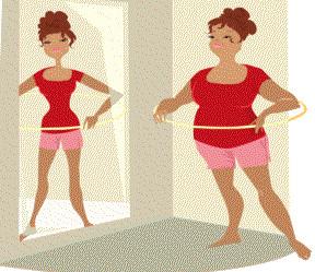 Похудение начинается с головы